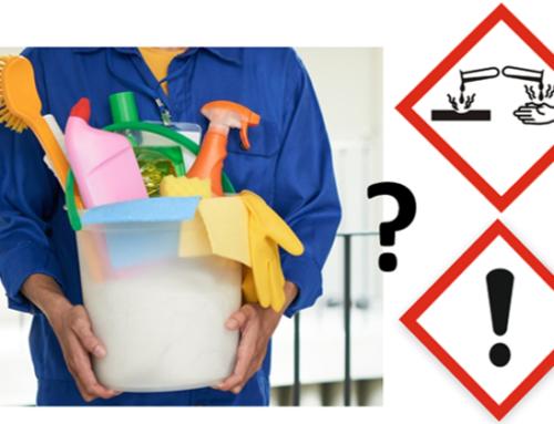 Har du kigget i dit skab med rengøringsmidler for nyligt?